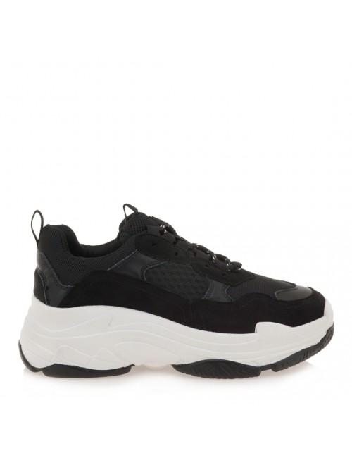 Γυναικεία sneakers EXE μαύρο SHN007-03